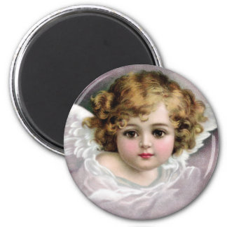 Ellen H. Clapsaddle: Charming Angel 2 Inch Round Magnet