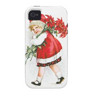 Ellen H. Clapsaddle: Chica con las flores del navi iPhone 4 Funda