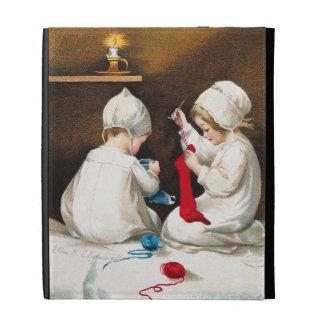 Ellen H. Clapsaddle: Chicas que cosen medias