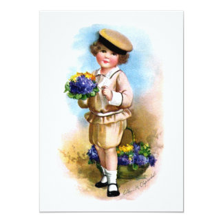 Ellen H. Clapsaddle: Child with Forget-me-not Card