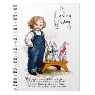 Ellen H. Clapsaddle: Child with three Bunnies