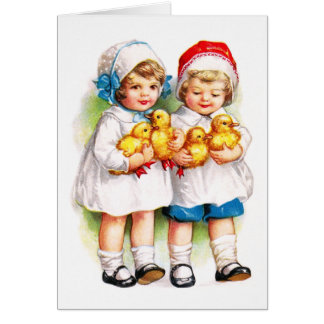 Ellen H. Clapsaddle: Children with Ducklings Cards