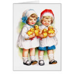 Ellen H. Clapsaddle: Children with Ducklings Cards