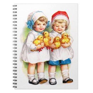 Ellen H. Clapsaddle: Children with Ducklings Note Books