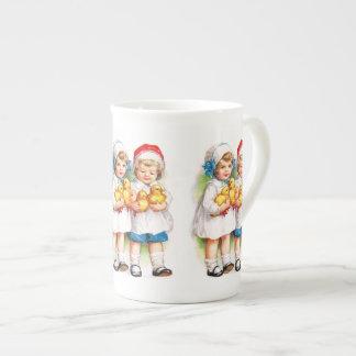 Ellen H. Clapsaddle: Children with Ducklings Tea Cup