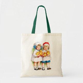 Ellen H. Clapsaddle: Children with Ducklings Tote Bag