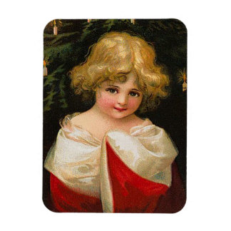 Ellen H. Clapsaddle - Christmas Girl Magnet