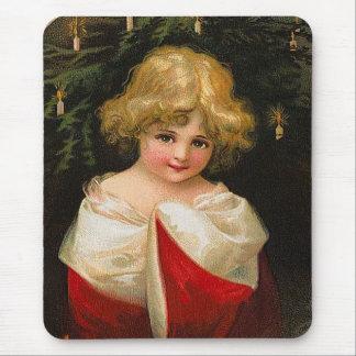 Ellen H. Clapsaddle - Christmas Girl Mouse Pad