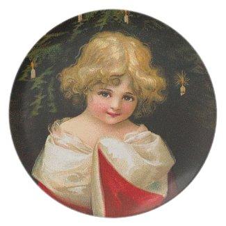Ellen Clapsaddle: Christmas Girl