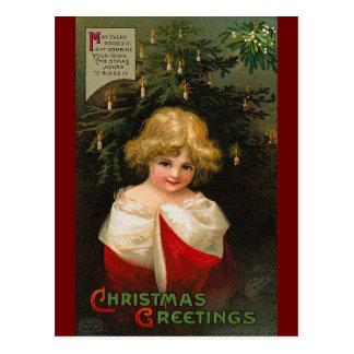Ellen H. Clapsaddle - Christmas Girl Post Cards