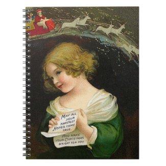 Ellen Clapsaddle: Christmas Girl with Letter