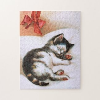 Ellen H. Clapsaddle: Christmas Kitten