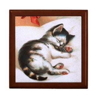 Ellen H. Clapsaddle: Christmas Kitten