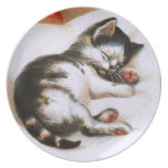 Ellen H. Clapsaddle: Christmas Kitten Party Plates