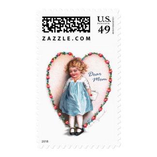 Ellen H. Clapsaddle: Dear Mom Postage Stamps