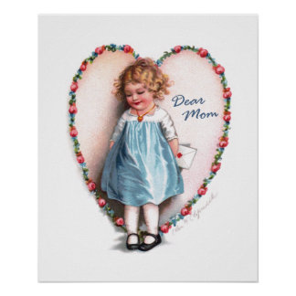 Ellen H. Clapsaddle: Dear Mom Poster