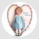 Ellen H. Clapsaddle: Dear Mom Stickers