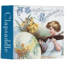 Ellen H. Clapsaddle: Easter Egg 1 3 Ring Binder