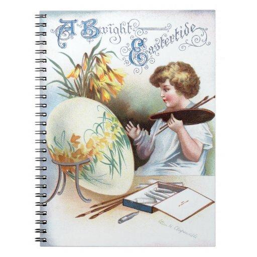 Ellen H. Clapsaddle: Easter Egg 1 Note Book