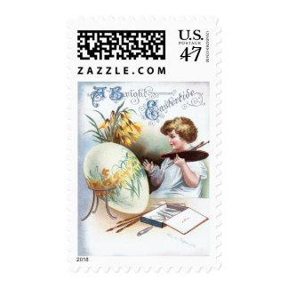 Ellen H. Clapsaddle: Easter Egg 1 Postage