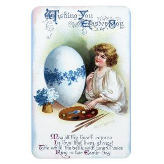 Ellen H. Clapsaddle: Easter Egg 3 Rectangular Photo Magnet