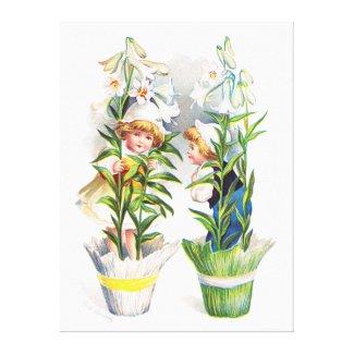 Ellen H. Clapsaddle: Easter Flower Children