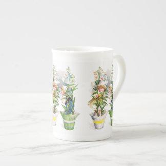 Ellen H. Clapsaddle: Easter Flower Children Tea Cup