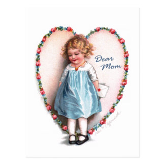 Ellen H. Clapsaddle: Estimada mamá Tarjetas Postales