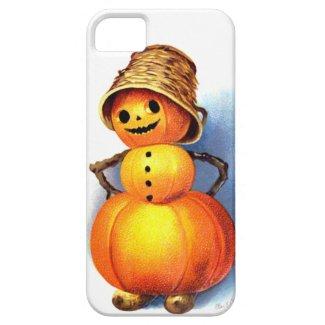 Ellen H. Clapsaddle: Funny Pumpkin Character iPhone 5 Case
