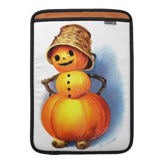 Ellen H. Clapsaddle: Funny Pumpkin Character MacBook Air Sleeves
