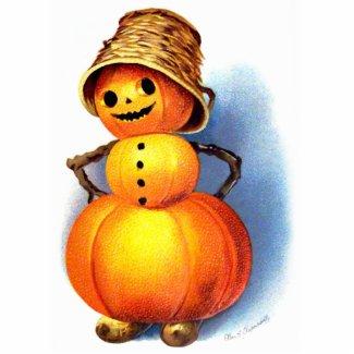 Ellen H. Clapsaddle: Pumpkin Girl
