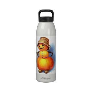 Ellen H. Clapsaddle: Funny Pumpkin Character Drinking Bottles