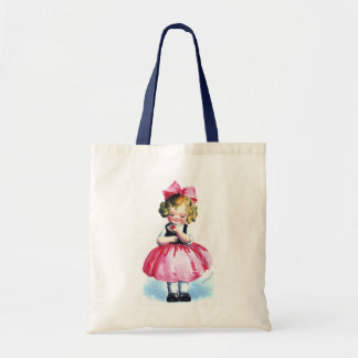 Ellen H. Clapsaddle: Girl with Heart Tote Bag