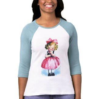 Ellen H. Clapsaddle: Girl with Heart zazzle_shirt