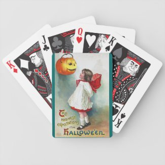 Ellen H. Clapsaddle: Girl with Jack O`Lantern