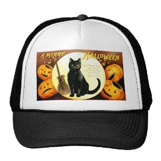 Ellen H. Clapsaddle: Halloween Cat Trucker Hat