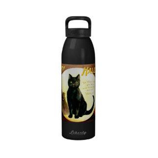 Ellen H. Clapsaddle: Halloween Cat Drinking Bottles