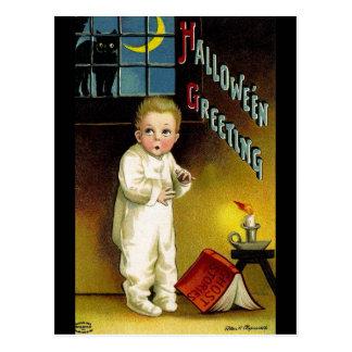Ellen H. Clapsaddle: Halloween fantasmagórico Postal