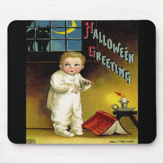 Ellen H. Clapsaddle: Halloween fantasmagórico Alfombrilla De Ratones