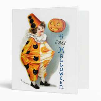 Ellen H. Clapsaddle: Halloween Harlequin Binder