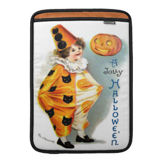 Ellen H. Clapsaddle: Halloween Harlequin Sleeves For MacBook Air