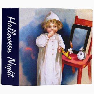 Ellen H. Clapsaddle: Halloween Night 3 Ring Binder