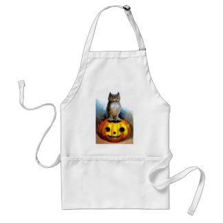 Ellen H. Clapsaddle: Halloween Owl Adult Apron