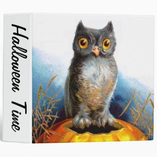 Ellen H. Clapsaddle: Halloween Owl Binder