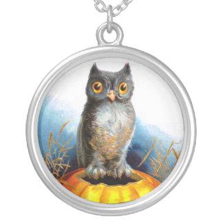 Ellen H. Clapsaddle: Halloween Owl Custom Necklace
