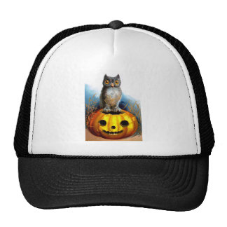 Ellen H. Clapsaddle: Halloween Owl Trucker Hat