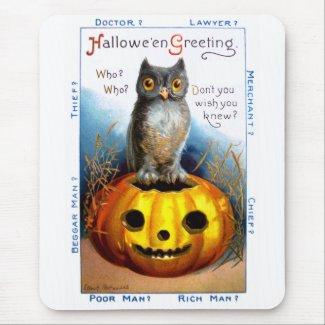 Ellen H. Clapsaddle: Halloween Owl