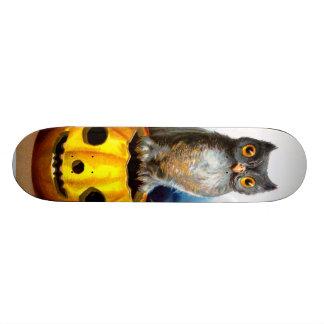 Ellen H. Clapsaddle: Halloween Owl Skate Deck