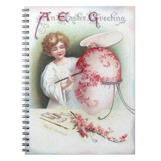 Ellen H. Clapsaddle: Huevo de Pascua 2 Libros De Apuntes