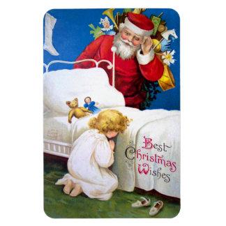 Ellen H. Clapsaddle: Listening Santa Magnet